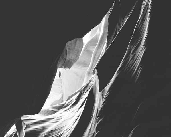 Sheer wall, antelope canyon