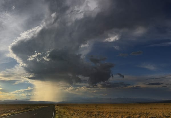 Approaching Rain, Nm Highway 16 Photography Art | Nicholas King Photography