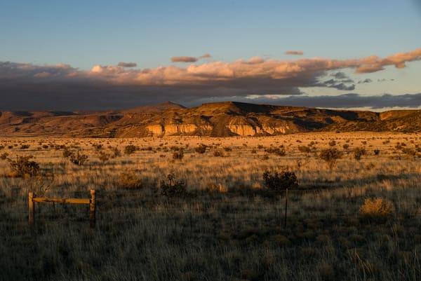 Warm Sunset, La Bajada Cliffs NM