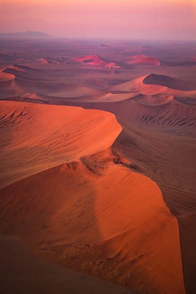 Pink Sand Dunes Vertical Photography Art   nancyney