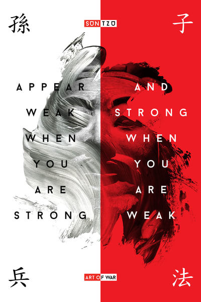 Appear Weak When You Are Strong Art | Awake Graphics, LLC