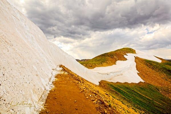 Snowline - A Fine Art Photograph by Marcos R. Quintana
