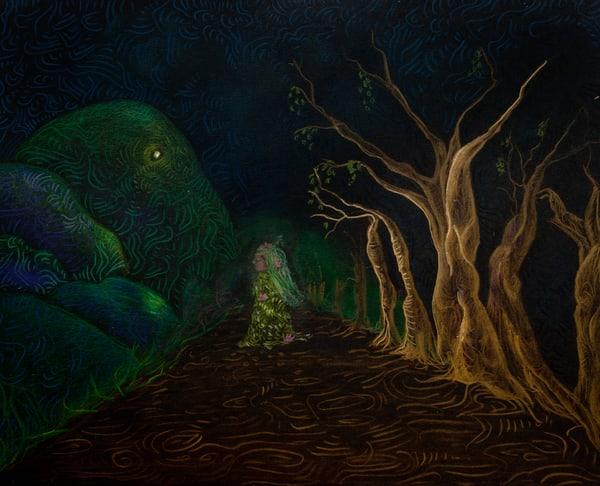 Castalia The Fountain Of Inspiration  Art | Angelica Hoyos Studio