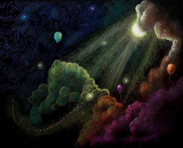 Dreams Among The Clouds  Art | Angelica Hoyos Studio