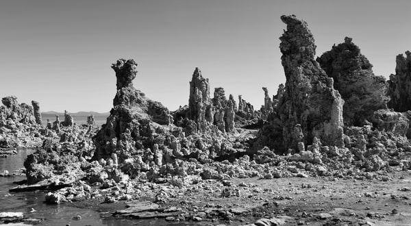 Mono Lake Photograph – Tufa B&W Art Photography - Fine Art Prints on Canvas, Paper, Metal & More
