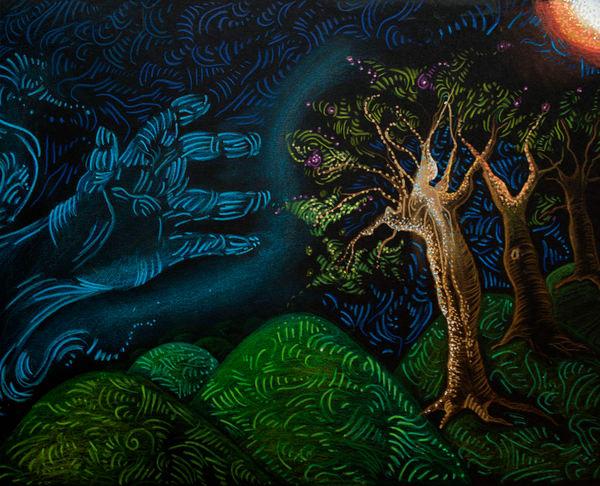 The Wind Waving To The Sun  Art | Angelica Hoyos Studio