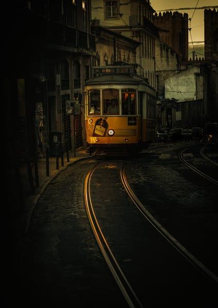 Iconic Lisbon tram