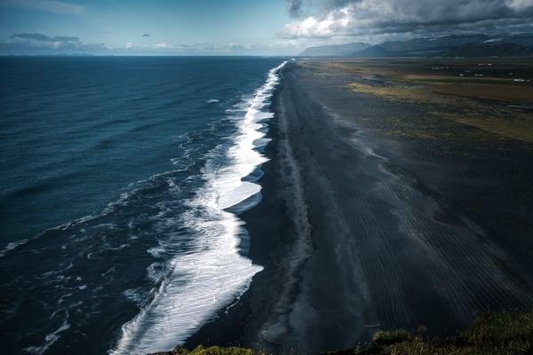 Amazing view at Dyrhólaey, Iceland