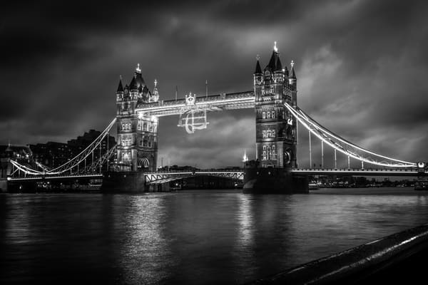 A moody shot of London Bridge London Bridge