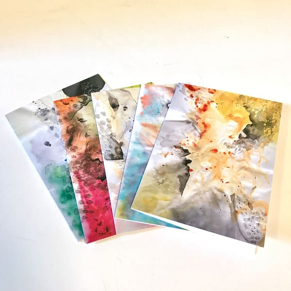 Greeting Cards   Set Of 5 | Makiko Harris Art