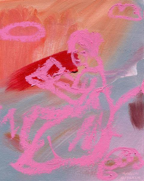 Read | Painting by Annelie McKenzie