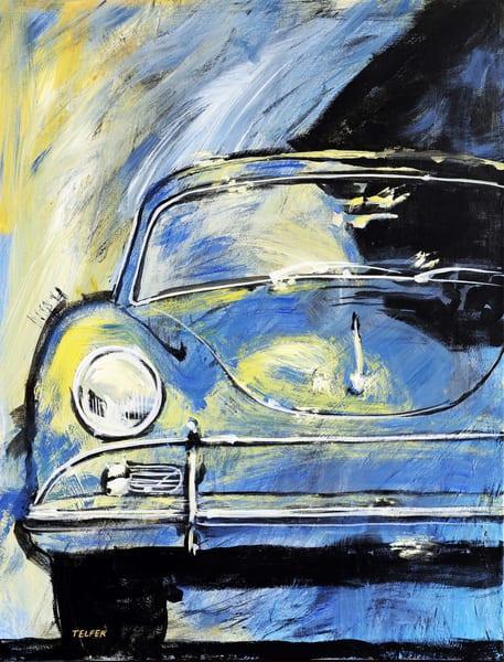 Blue Yellow 356 A Limited Edition Print Art | Telfer Design, Inc.