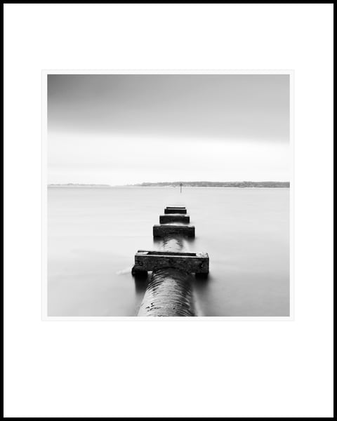 Poole Harbour Outlet Pipe Photography Art | Roy Fraser Photographer