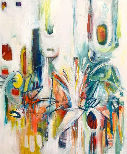 Energetics 1 Art | Kristyn Watterworth