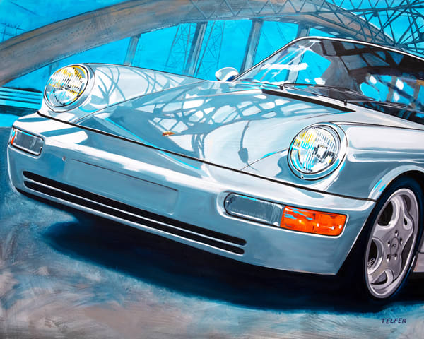 Blue Bridge Porsche 964 Art | Telfer Design, Inc.