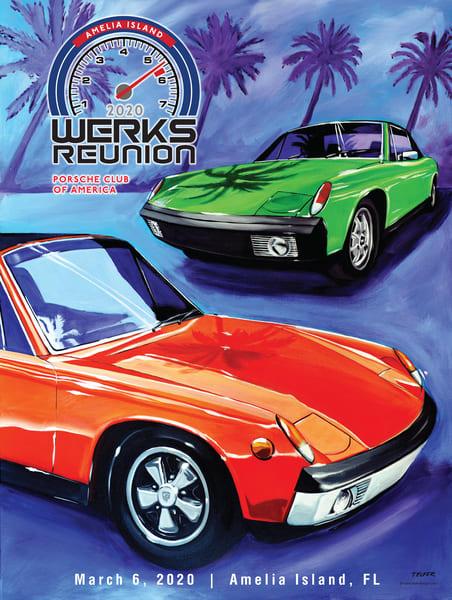 Pca Werks Reunion Amelia 2020 Poster | Telfer Design, Inc.