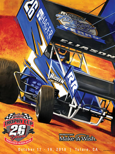 The 26th Annual Trophy Cup 2019 Poster | Telfer Design, Inc.