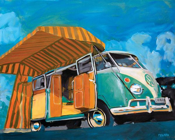 Vw Bus Westy Art | Telfer Design, Inc.