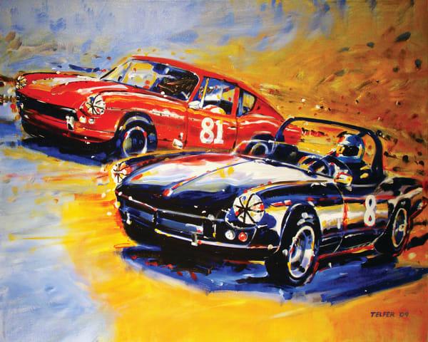 Dodson Racing Triumph Spitfire  Art | Telfer Design, Inc.