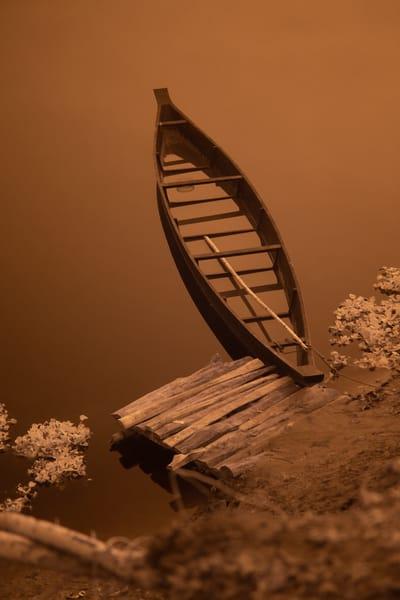 Canoe On Majuli Island Photography Art | nancyney