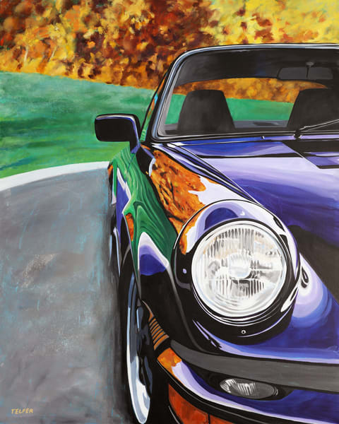 Porsche Carrera Art | Telfer Design, Inc.