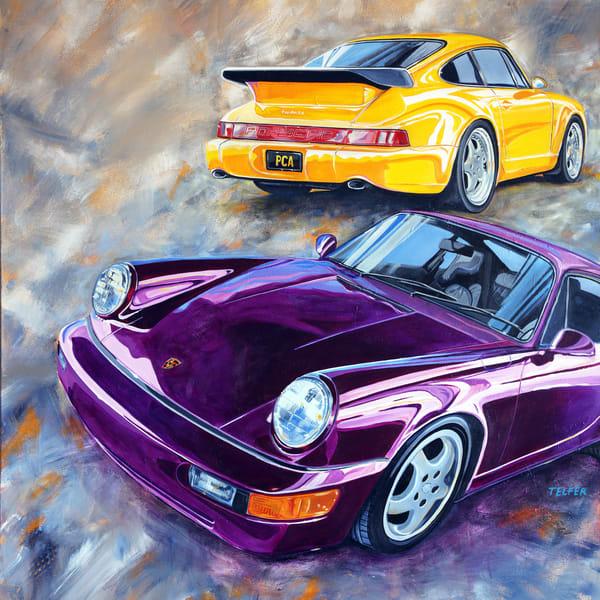 Werks Reunion Porsche 964 Art | Telfer Design, Inc.