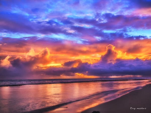 Sunrise Showers Photography Art | Ray Masters Productions