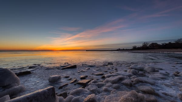 Sunrise And Rocks Photography Art | Ted Glasoe, Artist