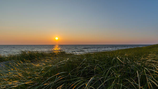 Sunset And Beach Grass 8 2 Photography Art | Ted Glasoe, Artist