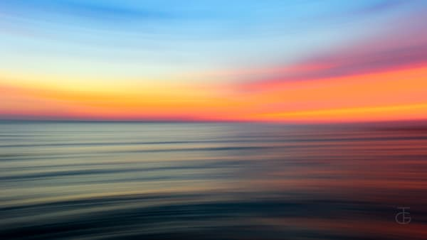 Sunrise Blurred Photography Art | Ted Glasoe, Artist