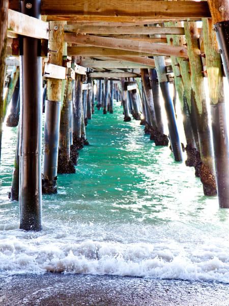 San Clemente Under Pier Fli P 30 X 40 Photography Art | Rosanne Nitti Fine Arts