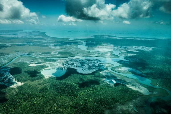 Belize from the Clouds - Photography by Varial*