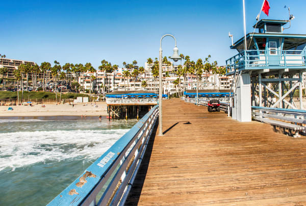 San Clemente From End 2 Photography Art | Rosanne Nitti Fine Arts