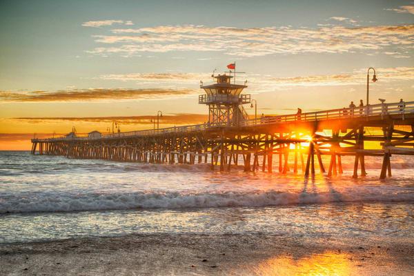 San Clemente Sunset 2 Photography Art | Rosanne Nitti Fine Arts