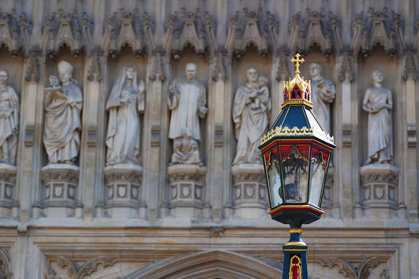 Church Lamp Photograph –London Art Photography - Fine Art Prints on Canvas, Paper, Metal & More