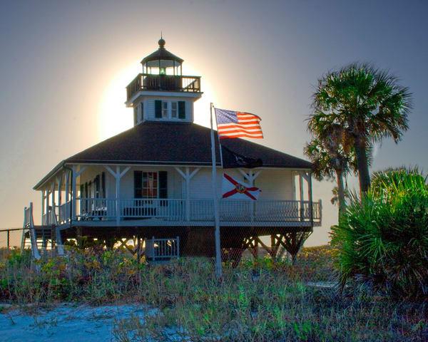 Boca Grande Light House Photography Art | It's Your World - Enjoy!