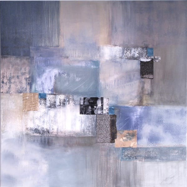 Ocean Square  (Original)  Sold Art | Laurie Fields Studio
