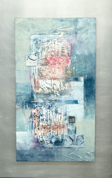 Double Grid  (Original) Art | Laurie Fields Studio