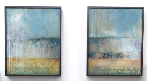 Haze Series A,B   (Originals) Art | Laurie Fields Studio