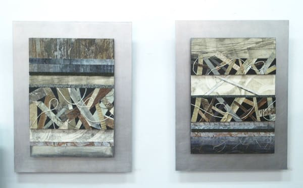 Canvas Strips Series  (Originals) Art | Laurie Fields Studio