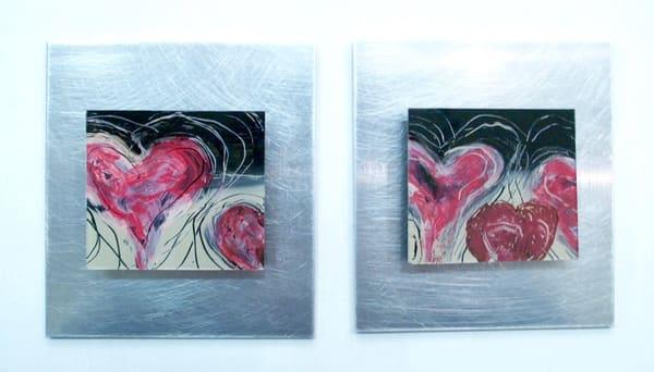 Heart Series  (Originals) Art | Laurie Fields Studio