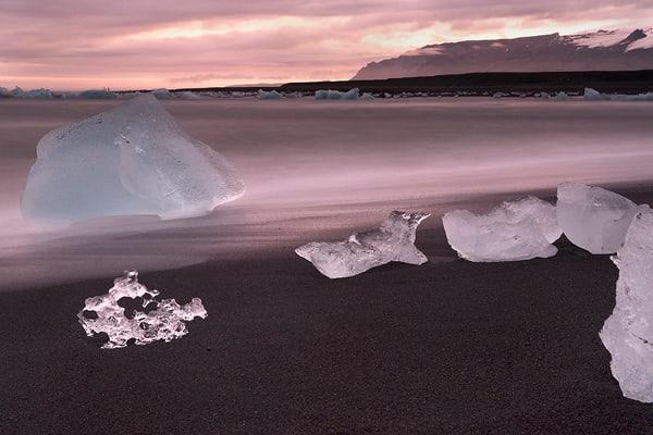 Sunset Ice Float Photography Art | nancyney