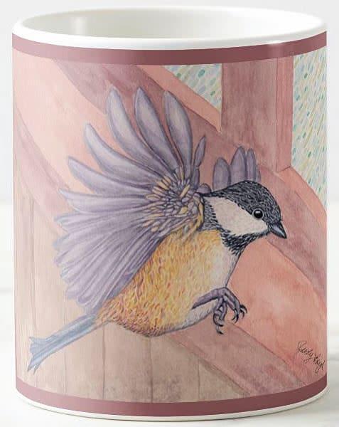 Black Capped Chickadee Mug | Birds by Boyd