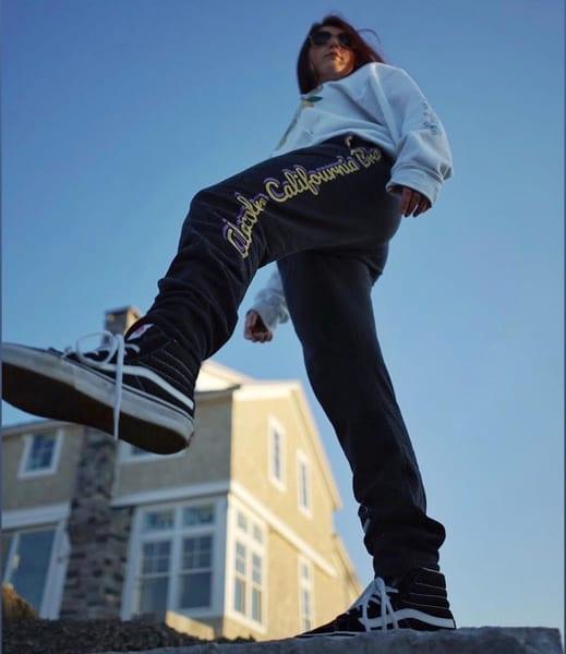 Alexander Califournia Men's Black Joggers   Alex Ranniello Art