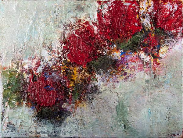 "Scarlet Path, 12x16"""