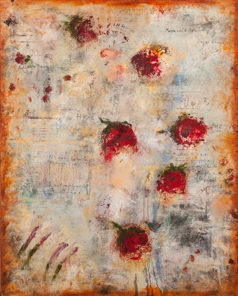 """Conjugation of Roses, 50x40"""""""