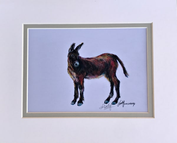 Lindy Cook Severns Art   Wild and Free, mini-print
