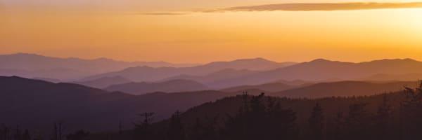 Dawn Begins, Smoky Mts