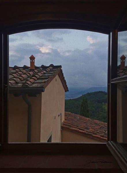 Il-Borgino Tuscany-Italy Window-view