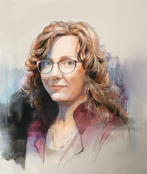 Beautiful Portrait  Art | MANTHA DESIGN